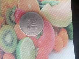 Vendo moneda de colección de 200 5 puntos