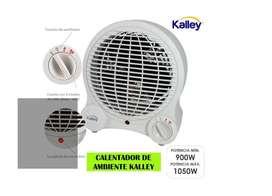 Calentador de ambiente marca Kalley SUPER SILENCIOSO Oportunidad