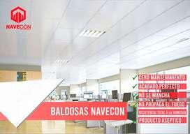 BALDOSAS TERMO ACUSTICAS 93919561siete NAVECON PVC FALSO CIELO DRYWALL