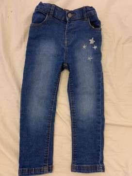 Jeans nena 2años