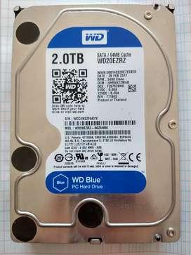 Disco Duro 2TB Western Digital Blue