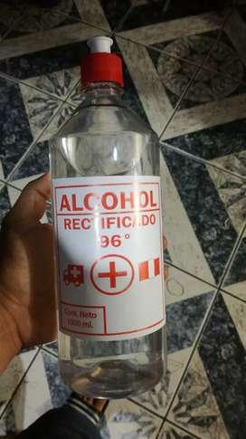 Alcohol puro 96