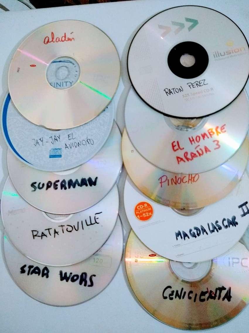 dvd y cd infantiles -comedias y musicales C/u