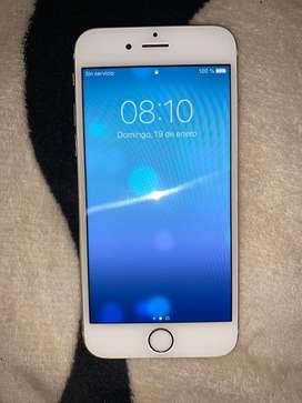 Vendo iphone 6 32gb color dorado para cualquier operador.