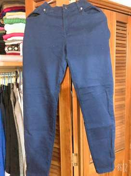 Pantalon Drill Azul Talla 12