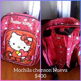 Vendo mochila chenson Nueva