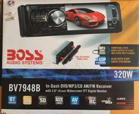 Radio Boss DVD-Bluetooth- USB dual - SD - AUX dual - AV rear
