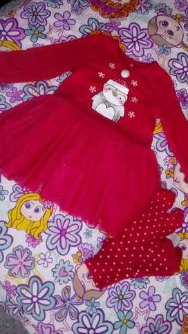 Conjunto y vestido americanos para niña