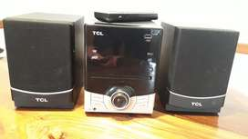 Minicomponente Tcl (mp3, Dvd, Cd, Radio)
