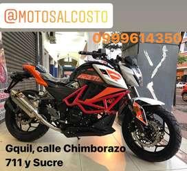 Moto Factorybike 370 Bicilindrica con Radiador de Agua y Doble Disco de Freno Precio Fabrica Consultas al Whatsapp