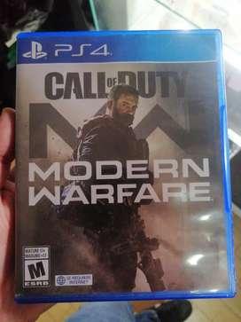 Call of Duty Modern Warfare Ps4 Usado buen estado