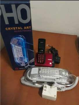 Vendo teléfonos convencionales