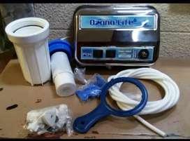 Purificadores de agua a base de Ozono, filtros