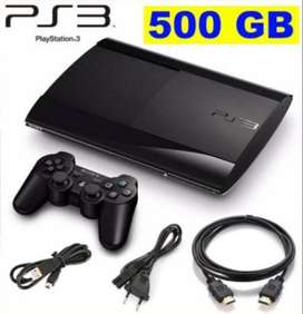 Ps3 Play Station 3 Super Slim 500gb