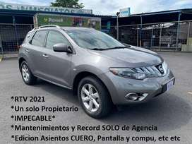 Nissan Murano 2011 Automatico LIMITED Edition FULL full, Recibo y FINANCIO