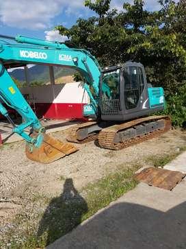 Excavadora kobelco 140
