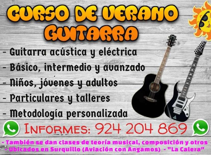 Clases De Guitarra Acústica / Eléctrica Y/o Música 0