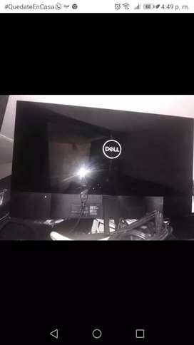 Monitor Dell LED SE2719H 27'' para repuesto Pantalla partida.