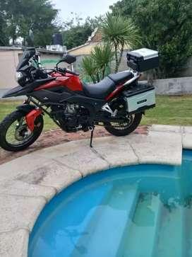 Moto corven 250 cc COMO NUEVA!!