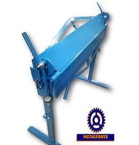 Plegadora Dobladora De Chapas Manual Metalforte 1020 Mm