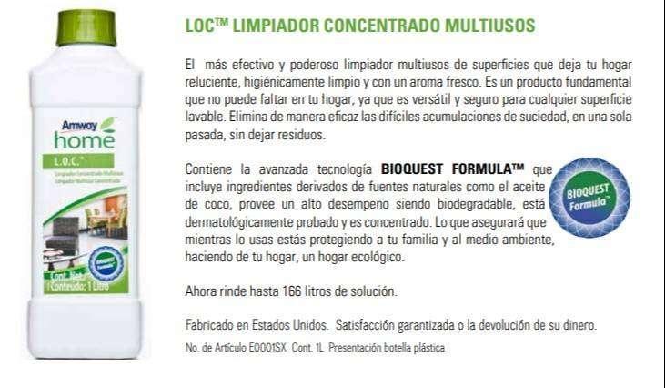 Limpiador Multiusos LOC 0