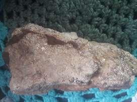 Una piedra con oro