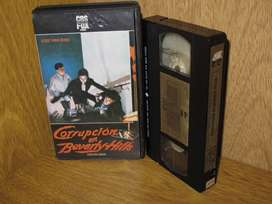 Corrupción en Beverly Hills  (Less Than Zero) - VHS 1987 - Brad Pitt