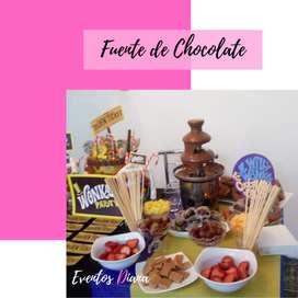 Alquiler de fuente de chocolate   Fiestas Infantiles Armenia
