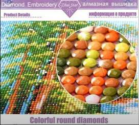 Hermosos cuadros pintura diamante 5D
