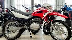 XR150L MOTO HONDA 0KM 2021  SOLO CON TU CÉDULA