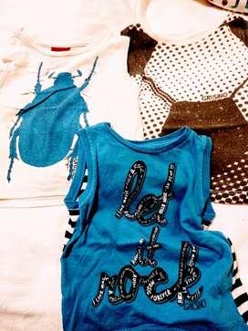 remera camiseta GRISINO  lote 3  NENE 12/18M hermosas