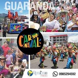 Tour al Carnaval de Guaranda & Caluma tres días dos noches