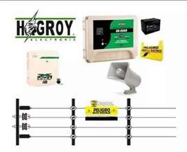 Cerco eléctrico x metro lienal + kit electrificador