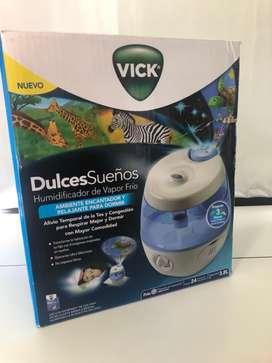 Humidificadoe Nuevo Vick Vul575ar Ultrasónico Vapor Frio 3.8l Proj