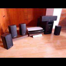 Bose y Onkyo 5.1 parlantes amplificador subwoofer marantz technics sansui harman jbl