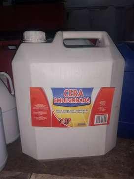 Cera emulsiónada Garrafa *20 litros