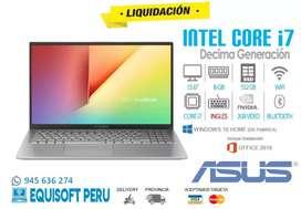 Laptop asus i7 de 10ma generación