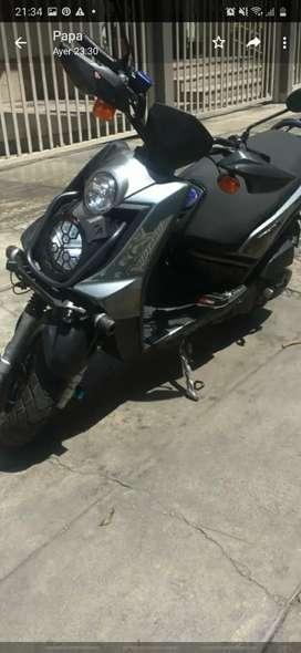 Moto Yamaha bws 125 modelo 2016