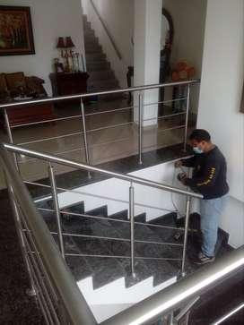 realizamos pasamanos balcones mangones
