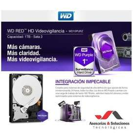 Disco Duro 1 Tera Wester Digital Purple Para DVR NVR
