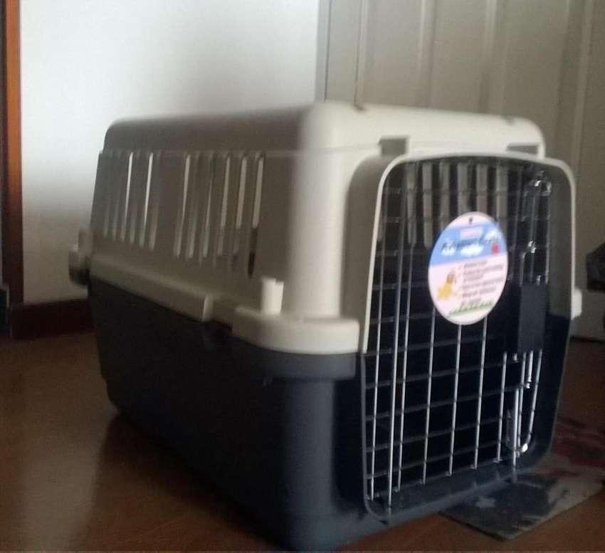 Guacal mediano para perros y gatos !! MULTIUSO 0