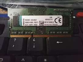 Memoria RAM para laptop 4gb