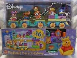 Megabloks disney winnie the pooh tren musical construccion1 segunda mano  Acacias Usaquén