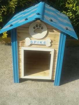 Casa para Perros Azul