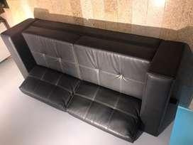 Sofa en cuero cuero!