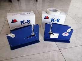 Precintadora o amarradora manual de cinta para bolsas, maquina selladora de bolsas