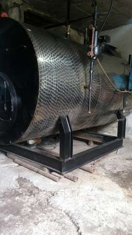 Fabricación Caldera Industrial