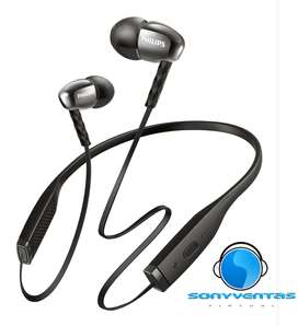 Audífonos Philips Bluetooth Metalix Pro. NUEVOS!