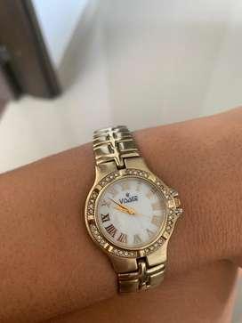 Reloj Vissage dorado