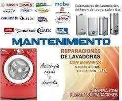 Se ofrece reparación de electrodomésticos LAVADORAS NEVERAS